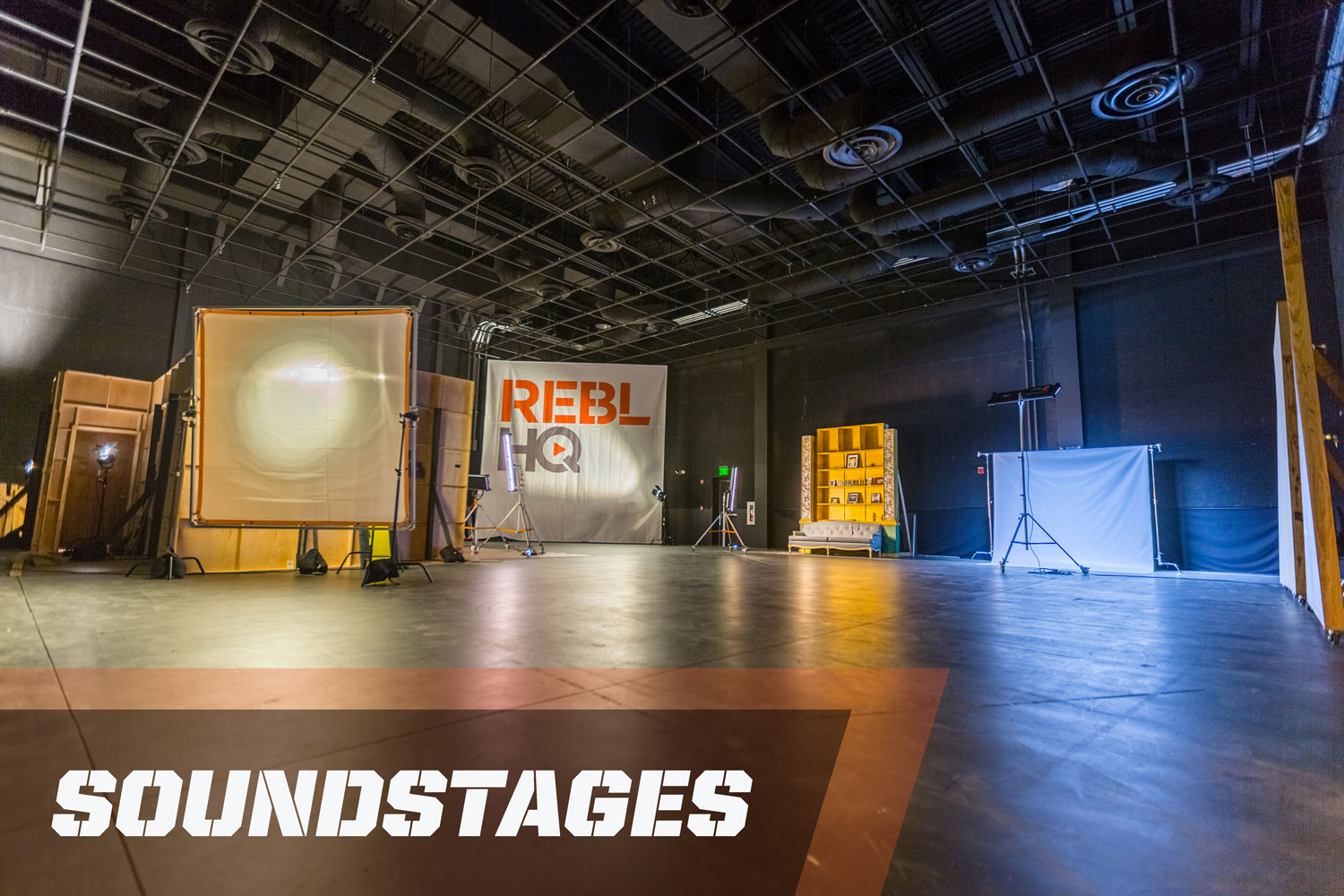 REBL HQ Soundstages